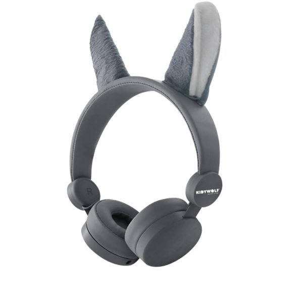 KIDYEARS Renard, casque audio personnalisé à la forme de Renard. Les enfants pourront écouter de la musique, ou regarder un film sur une tablette ou encore écouter leur boite à histoire Lunii ou Bookinou. Le tout en s'amusant avec les oreilles amovibles et aimantées.