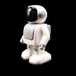 KIDYROBOT, ROBOT enceinte sur batterie. Vos petits et grand enfants s'amuseront en écoutant leur musique grâce à ROBERT, le robot danseur. Ses pas de danse s'accorderont au rythme de chaque musique écoutée.