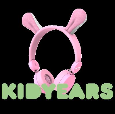 KIDYEARS Lapin, casque audio personnalisé à la forme de Lapin.