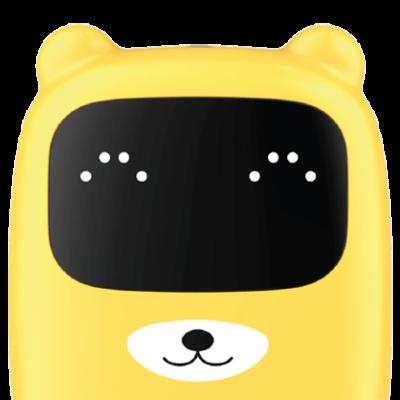 Kidywolf Kidyted jaune Une balance connectée pour petits et grands qui permet de se peser et de se mesurer en s'amusant